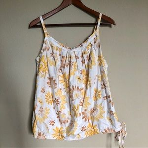 GAP•Limited Edition Floral Tank Top